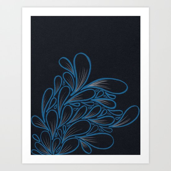 Ice-y  Art Print