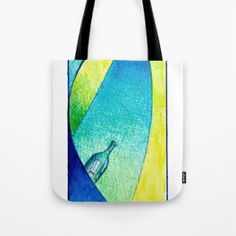 #14 - Message in a bottle Tote Bag