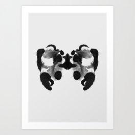 Form Ink Blot No. 20 Art Print
