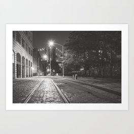 Dumbo Nights Art Print