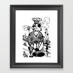 BUMP/FAREWELL Framed Art Print