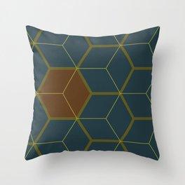 Hex1 Throw Pillow