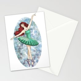 Ariel - Ballerina Stationery Cards
