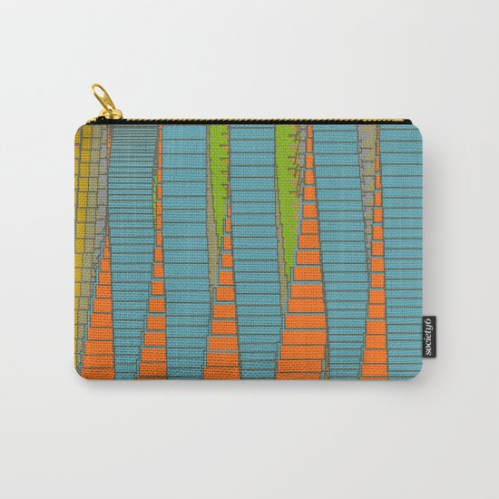Fabulous Lights on Boulevard Glass Buildings Carry-All Pouch