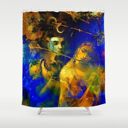 Shiva The Auspicious One - The Hindu God Shower Curtain