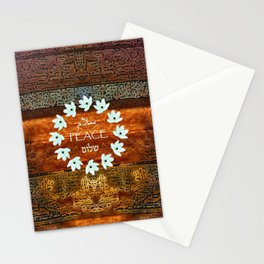Circle of Stars Stationery Cards