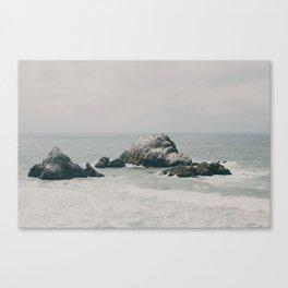 SF Ocean Canvas Print