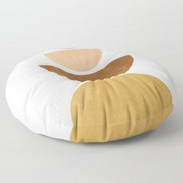 Moons | Mid Century Abstract Floor Pillow