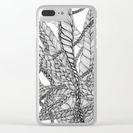 looping braids Clear iPhone Case