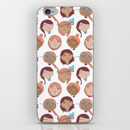 Pattern Project #22 / Girl Gang iPhone Skin