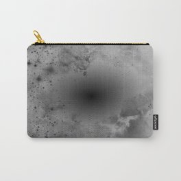 Black Hole, White Cosmic Dust Carry-All Pouch