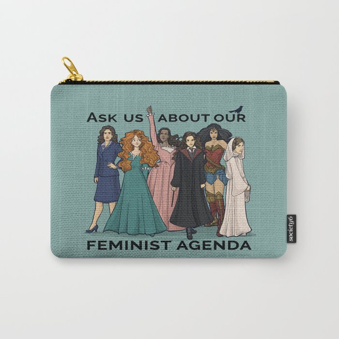 Feminist Agenda Carry-All Pouch