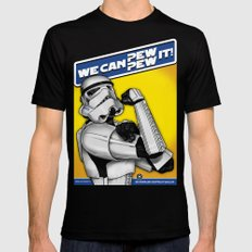 Stormtrooper: 'WE CAN PEW-PEW IT!' Mens Fitted Tee X-LARGE Black