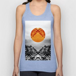 Why down the circle Unisex Tank Top