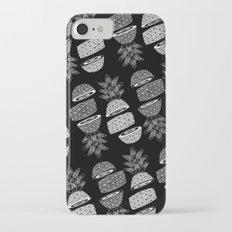 Pineapples (Dark/Sliced) iPhone 7 Slim Case