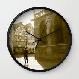 The skater France Wall Clock