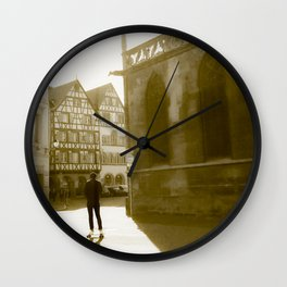 The skater France Wall Clock