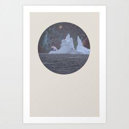 The Lonely Polarcorn Art Print