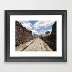 Let's Go For a Walk Framed Art Print