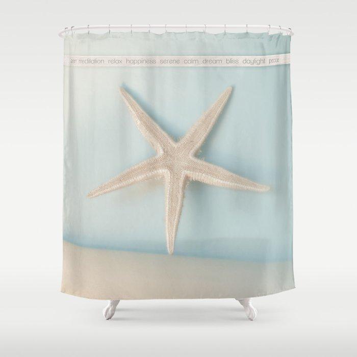 Zen Shower Curtain By Evanev