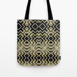 Tribal Gold Glam Tote Bag