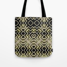 Tribal Gold Glam Tote Bag