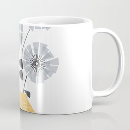 Midcentury Floral #society6 #decor #floral Coffee Mug