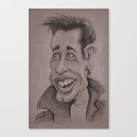 danny haas Canvas Prints featuring Danny by chadizms