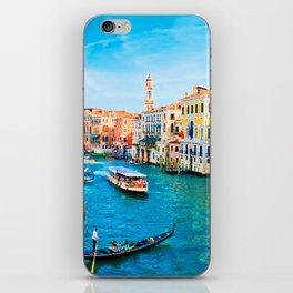 Italy. Venice lazy day iPhone Skin