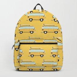yellow van Backpack