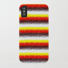 YelOraBrownWhite iPhone X Slim Case