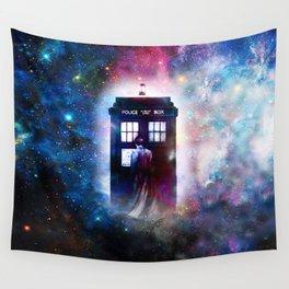 tardis nebula Wall Tapestry
