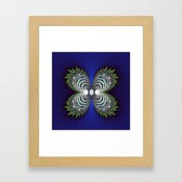 Fractal Butterfly Framed Art Print