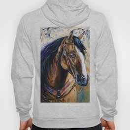 In The Eyes - Cutting Horse Hoody