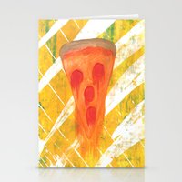 pizza Stationery Cards featuring Pizza by Angelz