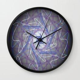 Spacial Requiem Wall Clock