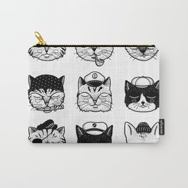 Ocean Cats Carry-All Pouch