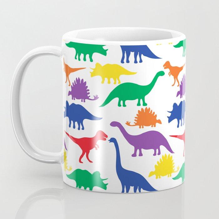 Dinosaurs - White Coffee Mug