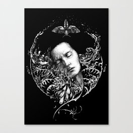 Allegory. Night. Canvas Print