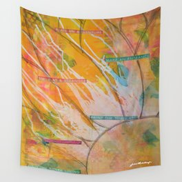 Spread the Sunshine Wall Tapestry