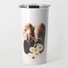 do small things with much love Travel Mug