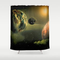 Space One Shower Curtain