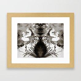 Overtaken by Reflection Framed Art Print