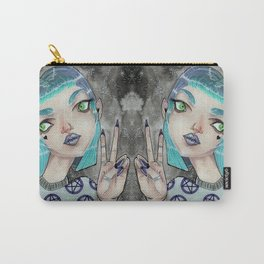 Space Witch comes in peace Carry-All Pouch