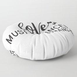 Love Must Be Sincere Romans 12 9-01 Floor Pillow