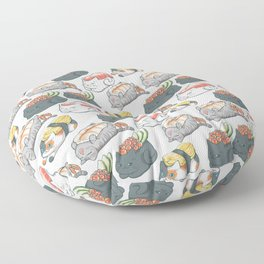 Sushi Cats Floor Pillow