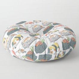 Sushi Cats Floor Pillow