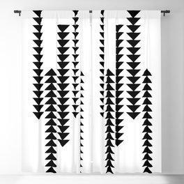 Boho Aztec Arrows Blackout Curtain