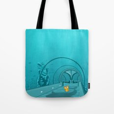 Gluttony - When the eye is bigger than the belly Tote Bag