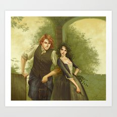 The Frasers Art Print